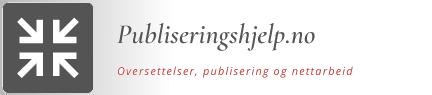 Publiseringshjelp.no